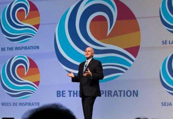 """O Presidente do RI para 2018-2019, Barry Rassin, quer que os membros do Rotary """"Sejam a inspiração"""""""