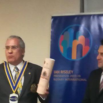 Visita Oficial do Governador ao Rotary Club de Arouca
