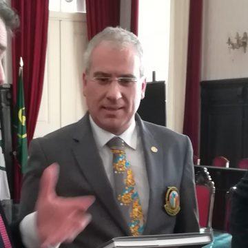 Visita Oficial do Governador ao Rotary Club de Estarreja