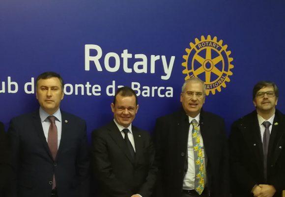 Visita Oficial do Governador ao Rotary Club de Ponte da Barca