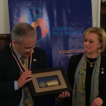 Visita Oficial do Governador ao Rotary Club de Ponte de Lima