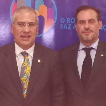 Visita Oficial do Governador ao Rotary Club de Arcos de Valdevez