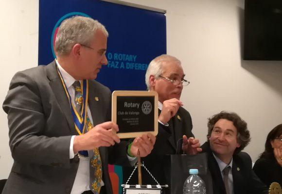 Visita Oficial do Governador ao Rotary Club de Valongo