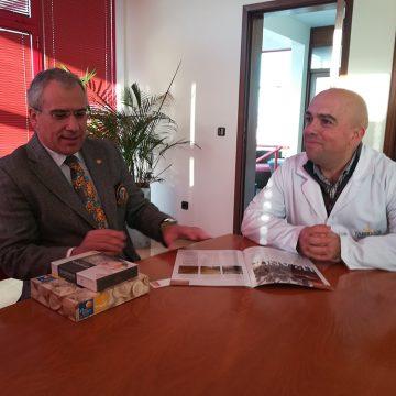 Alberto Soares Carneiro visitou as instalações da Fabridoce