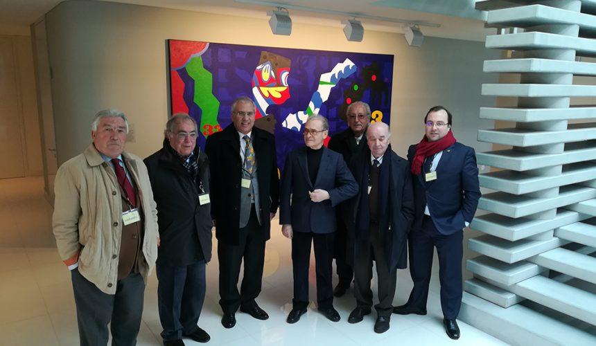 Alberto Soares Carneiro visitou a Casfil em Santo Tirso