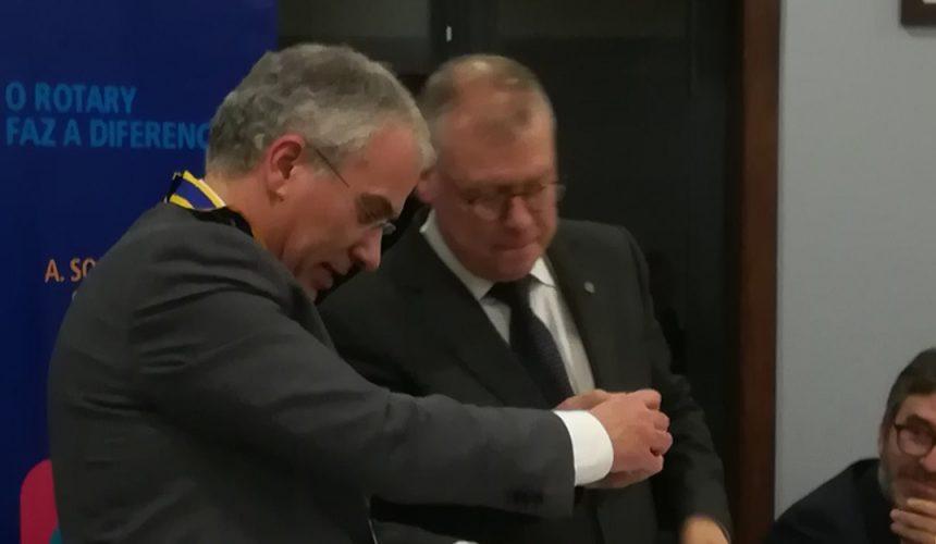 Visita Oficial do Governador ao Rotary Club de Famalicão
