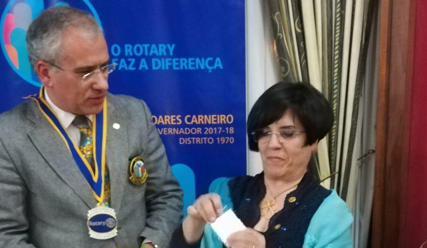 Visita Oficial do Governador ao Rotary Club de Aveiro