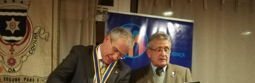Visita Oficial do Governador ao Rotary Club da Covilhã