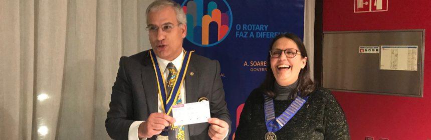 Visita Oficial do Governador ao Rotary Club de Porto-Oeste