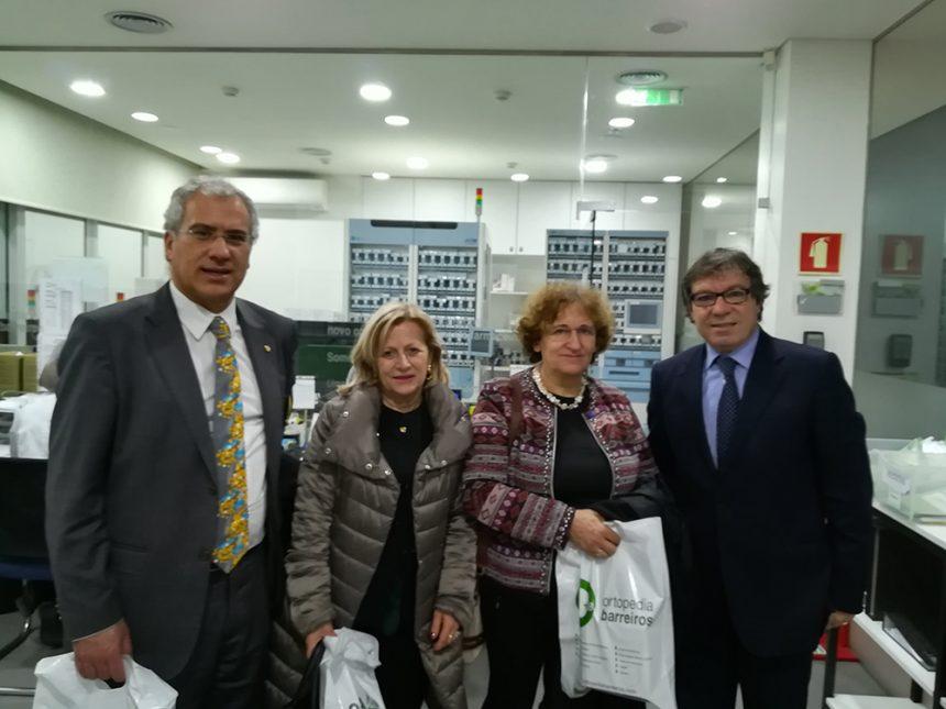 Governador do Distrito 1970 conheceu Farmácia Barreiros no Porto