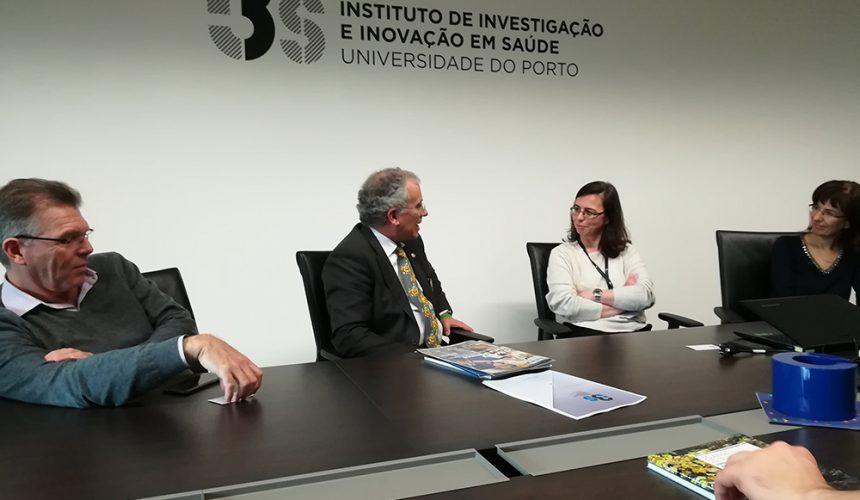 Governador do Distrito 1970 conheceu o I3S – Instituto de Investigação e Inovação em Saúde