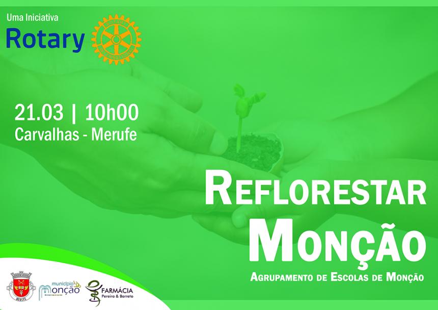 9 mil árvores serão plantadas em Monção