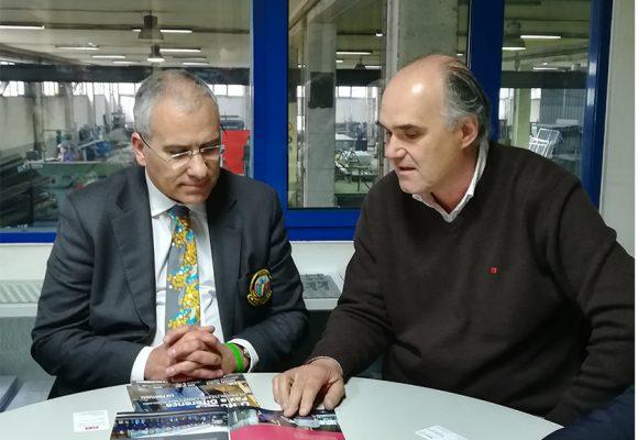 Soares Carneiro visitou a Serralharia Bifura em Amarante