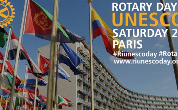 O dia do Rotary na UNESCO celebra-se a 24 de março