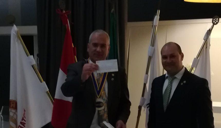 Visita Oficial do Governador ao Rotary Club de Fafe