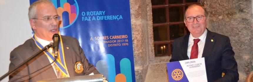 Visita Oficial do Governador ao Rotary Club de Guimarães