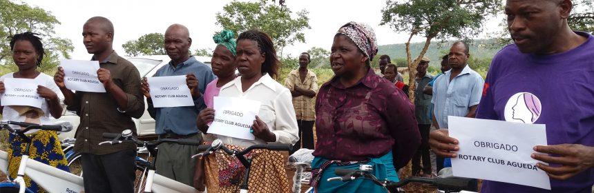 Rotary Club de Águeda e Rotary Club de Matola apoiam o Projeto Mozambikes