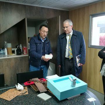 Soares Carneiro conheceu as instalações da empresa Rui Matias em Sever do Vouga