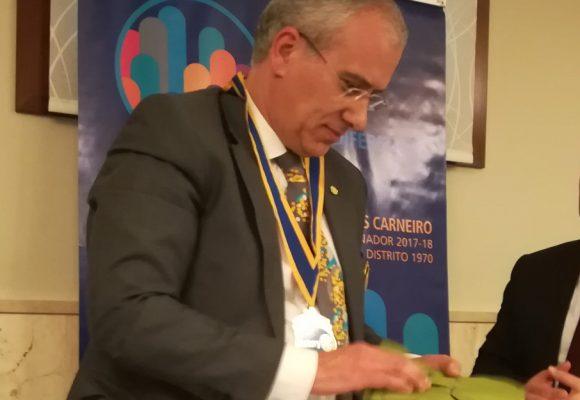 Visita Oficial do Governador ao Rotary Club de Águeda