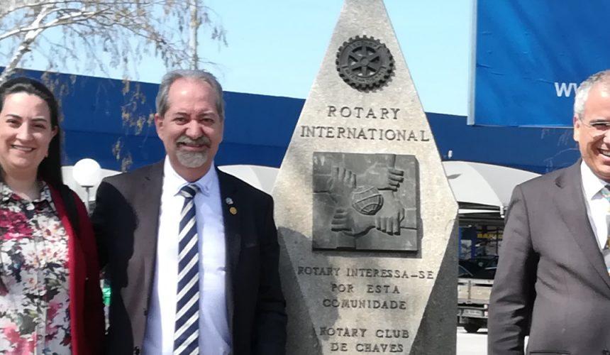 Visita Oficial do Governador ao Rotary Club de Chaves