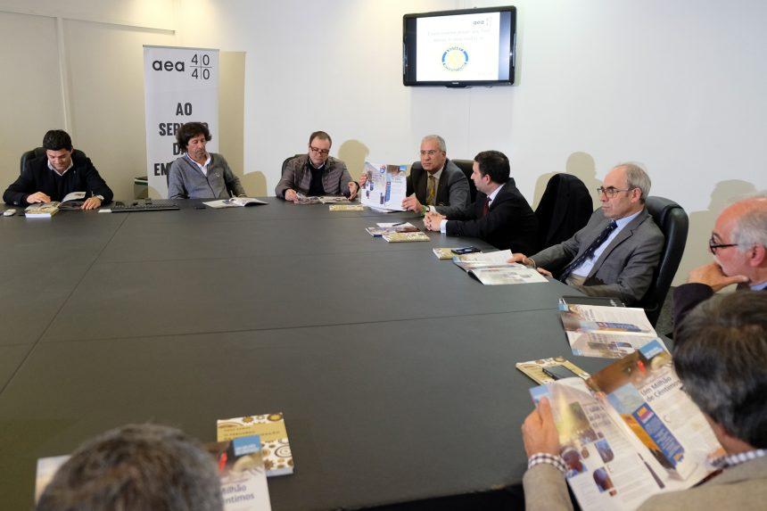 Governador do Distrito conheceu a Associação Empresarial de Águeda