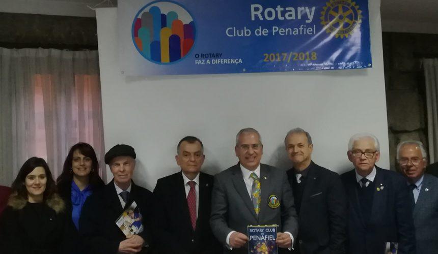 Visita Oficial do Governador ao Rotary Club de Penafiel