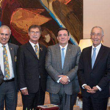 Governadores do Rotary em Portugal recebidos pelo Presidente da República