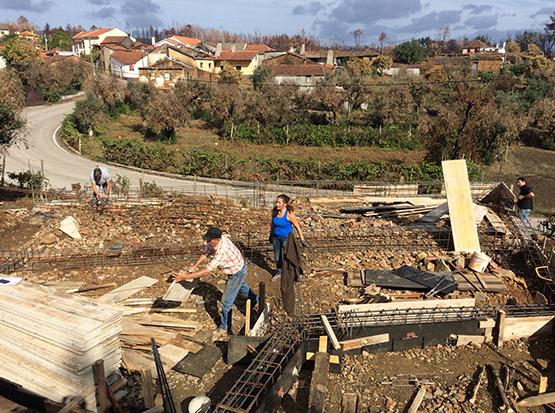 """NRDC de Pombal """"Reconstruir"""" – ajuda à reconstrução de uma habitação em Pedrogão Grande"""