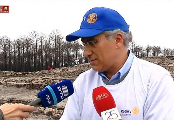 Reportagem Sic Notícias sobre a plantação de 50 mil árvores no Pinhal de Leiria