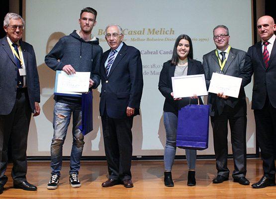 Melhores bolseiros (D1960 e D1970) da Fundação Rotária Portuguesa agradecidos pelo apoio recebido