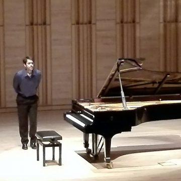 Concerto de piano de João Elias no 65.º aniversário do Rotary Club de Coimbra