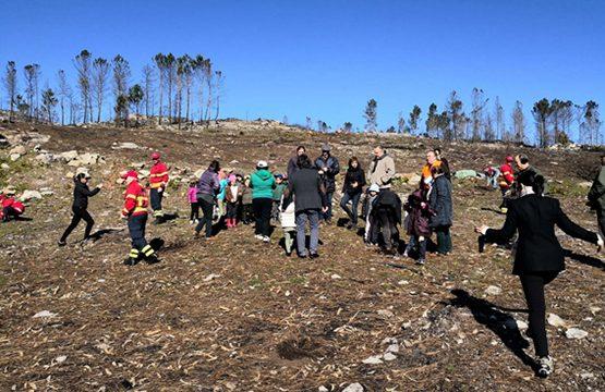 RC Monção e comunidade reflorestaram freguesia de Merufe